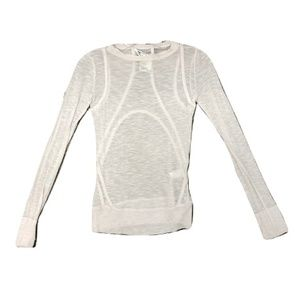 Helmut Lang Panelled Top, Retail $345, Size S